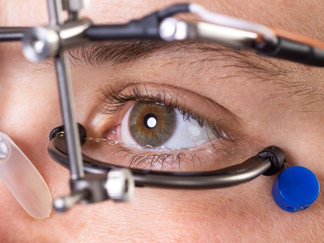 Closeup: OkuEl on the eye